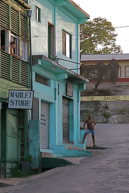 Street scene, San Ignacio, Belize