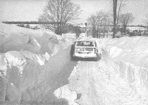 Blizzard of 1977. Buffalo Area. Photo Credit: Wikipedia