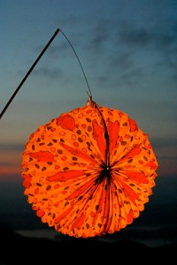Lampion_am_1._August_auf_der_Klewenalp