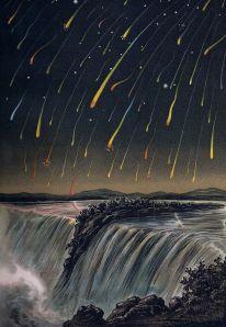 Leonid_Meteor_Storm_1833